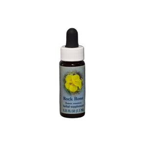 Rock Rose Flower Essence Healing Herbs BACH Wonderworks