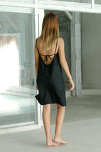 Load image into Gallery viewer, Paros Tie Back Dress in Night