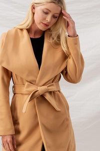 Soft Lapel Trench Coat