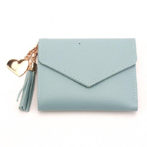 Small tassel wallet