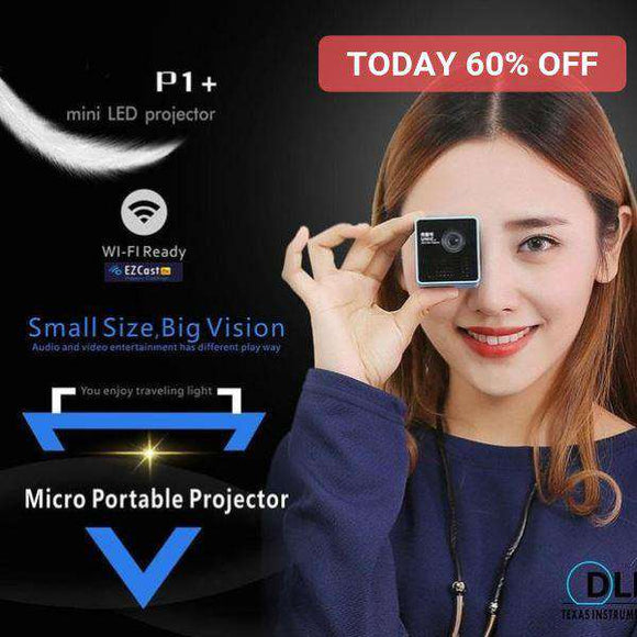 Micro Portable Wireless Projector™ projector Fanatics Warehouse