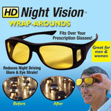 Polar-Tech Night Vision HD Driving Glasses glasses Fanatics Warehouse Gray