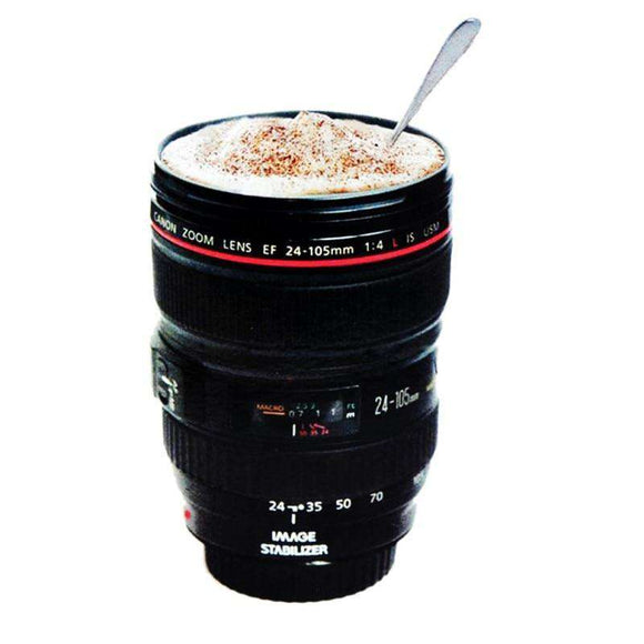 Camera Lens Coffee Mug mug Fanatics WareHouse