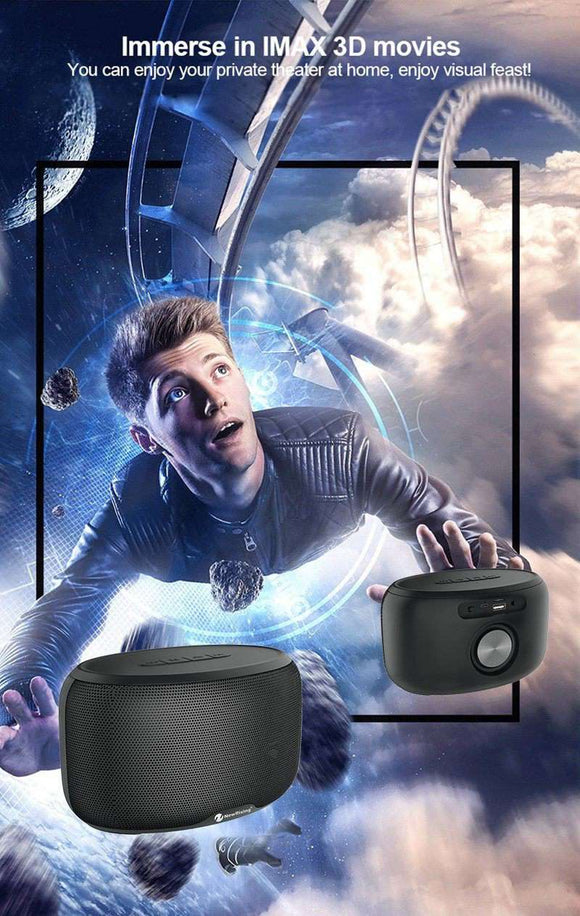 Portable Bluetooth Speaker Home Projector speakers Fanatics WareHouse