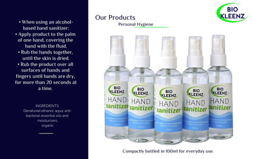 Hand Sanitizer 100ml pack of 35