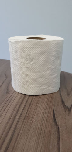 2 ply 350 sheets toilet paper. Packs of 48 rolls. R200. Minimum order of 10 bails