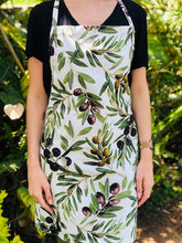 Load image into Gallery viewer, Apron Olive Design