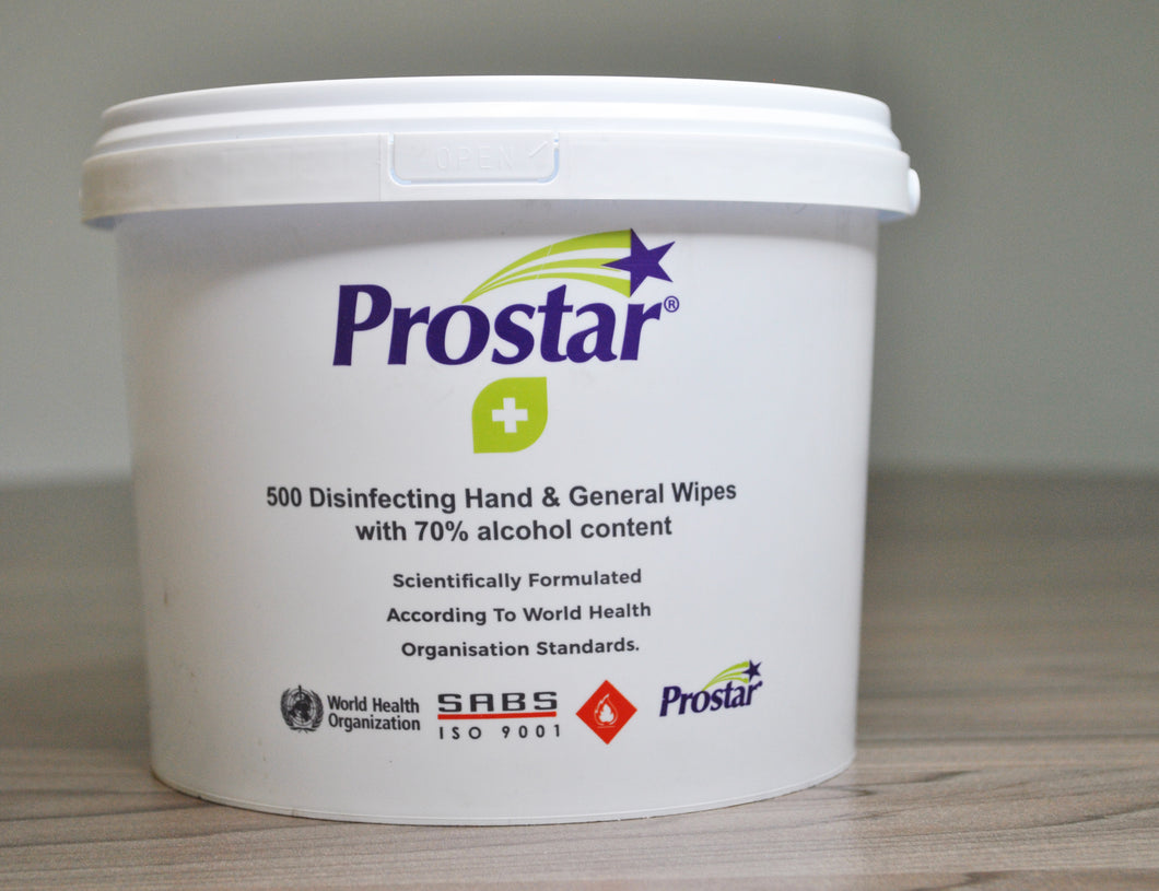 Prostar Disinfectant Wipes 2.5L