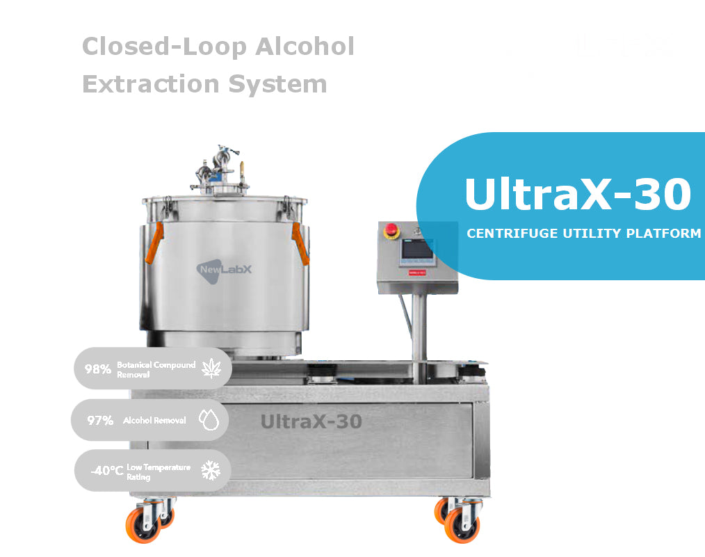 UltraX-30 Closed-Loop Aicohol Extraction System