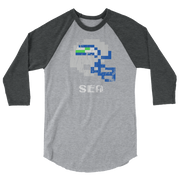 Seattle Seahawks | Tecmo Bowl Raglan Shirt