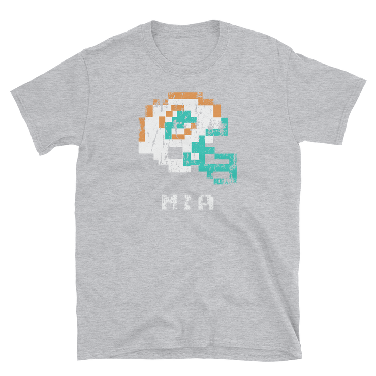 Miami Dolphins | Tecmo Bowl Shirt - sport grey