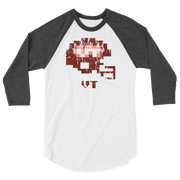 Virginia Tech | Tecmo Bowl Raglan Shirt