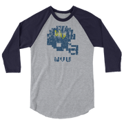 West Virginia | Tecmo Bowl Raglan Shirt