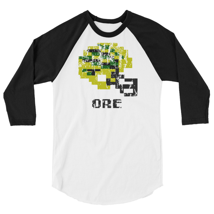 Oregon Ducks | Tecmo Bowl Raglan Shirt