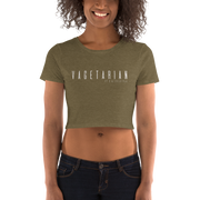 Vageterian Crop Top