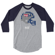New England Patriots | Tecmo Bowl Raglan Shirt