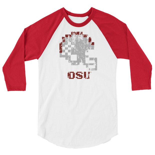 Ohio State | Tecmo Bowl Raglan Shirt