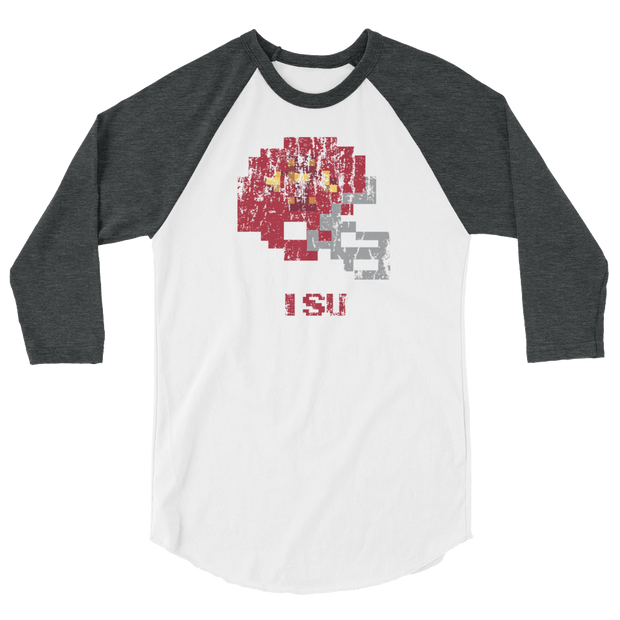 Iowa State | Tecmo Bowl Raglan Shirt