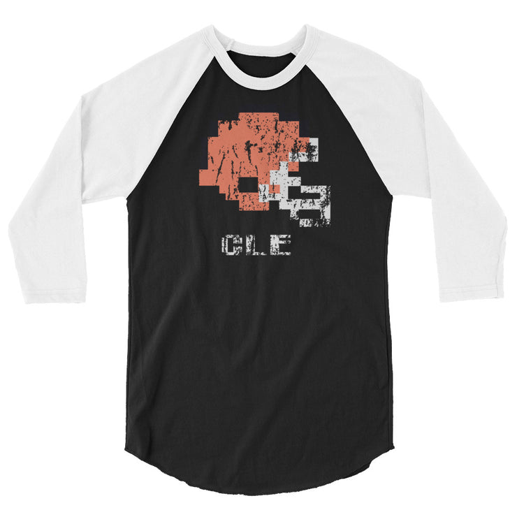 Cleveland Browns | Tecmo Bowl Raglan Shirt