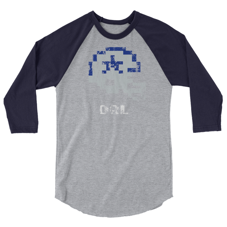 Dallas Cowboys | Tecmo Bowl Raglan Shirt