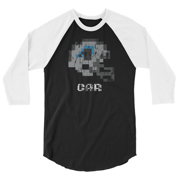 Car Panthers | Tecmo Bowl Raglan Shirt