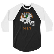 Miami Hurricanes | Tecmo Bowl Raglan Shirt