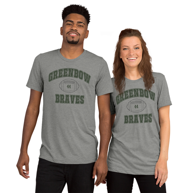 Greenbow Braves | Forrest Gump High School Shirt - model mockup