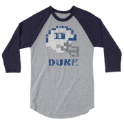 Duke Blue Devils | Tecmo Bowl Raglan Shirt
