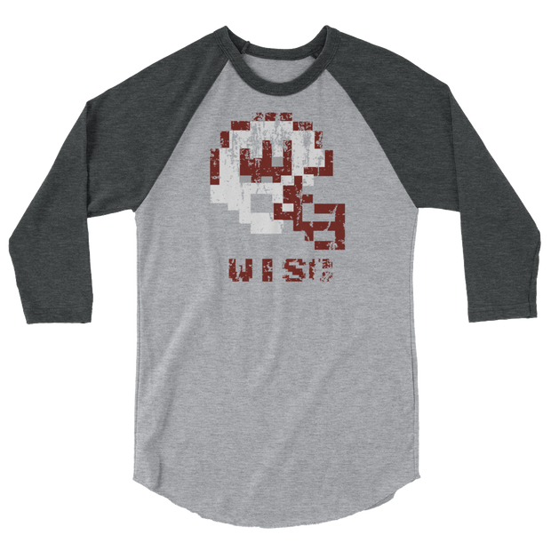 Wisconsin Badgers | Tecmo Bowl Raglan Shirt