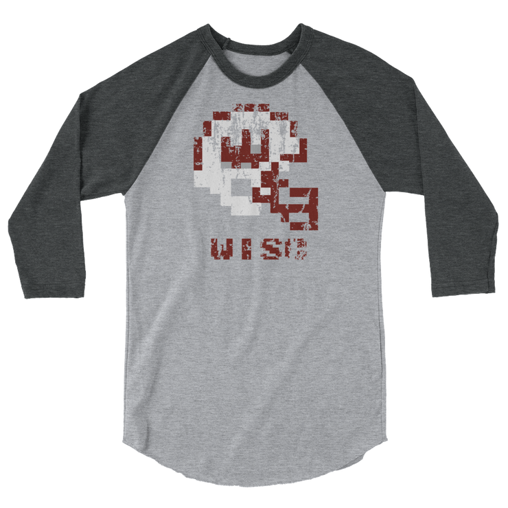 Badgers | Tecmo Bowl Raglan Shirt