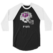 Furman | Tecmo Bowl Raglan Shirt