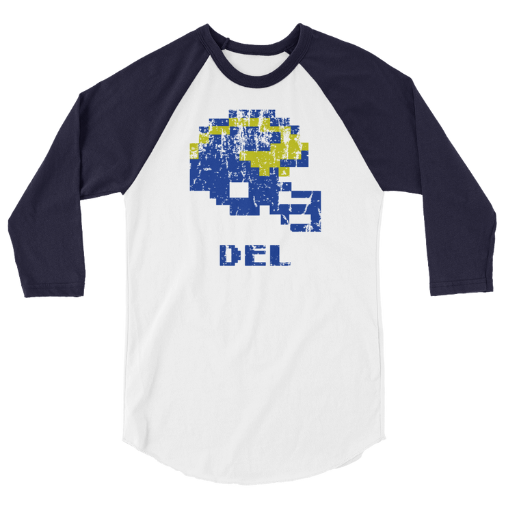University of Deleware | Tecmo Bowl Raglan Shirt