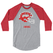 Arkansas Razorbacks | Tecmo Bowl Raglan Shirt