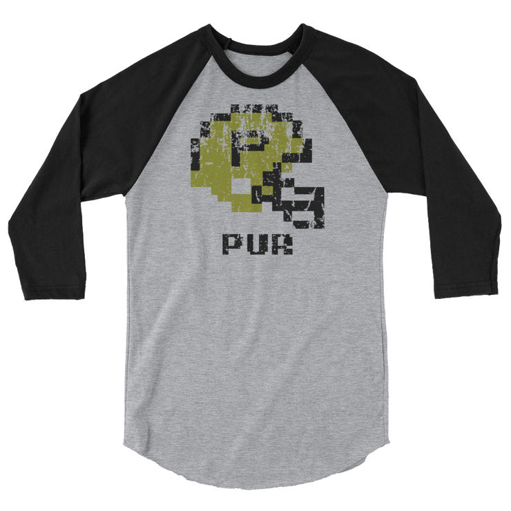 Boilermakers | Tecmo Bowl Raglan Shirt