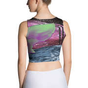 Space Mountain | Sublimation Cut & Sew Crop Top
