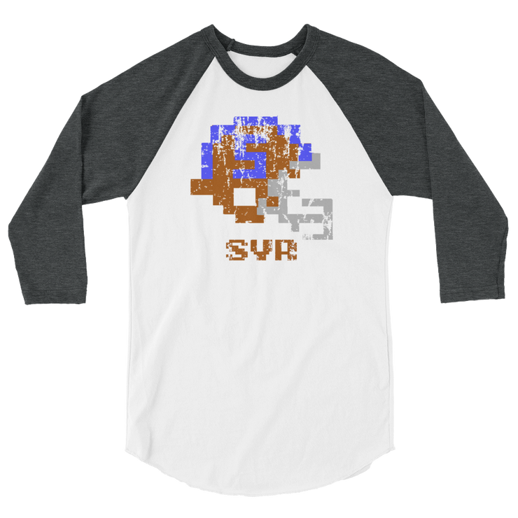 University of Syracuse | Tecmo Bowl Raglan Shirt