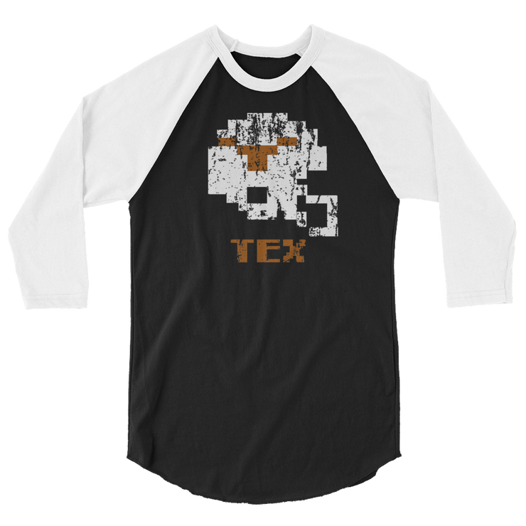 Texas Longhorns | Tecmo Bowl Raglan Shirt
