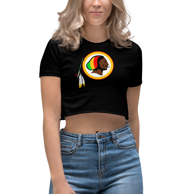Rasta Skins Crop Top