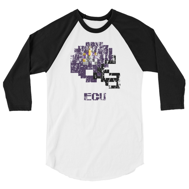 East Carolina | Tecmo Bowl Raglan Shirt