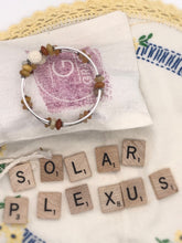 Load image into Gallery viewer, Solar Plexus Chakra Expandable Diffuser Bracelet