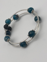 Load image into Gallery viewer, lava stone bracelet for essential oils