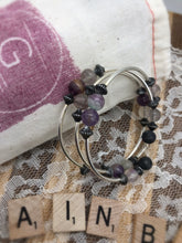 Load image into Gallery viewer, Rainbow Fluorite Diffuser Expandable Bracelet