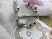 Load image into Gallery viewer, Citrine Stone Diffuser Expandable Bracelet
