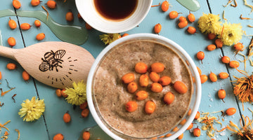 Honey Chia Pudding with Sea Buckthorn