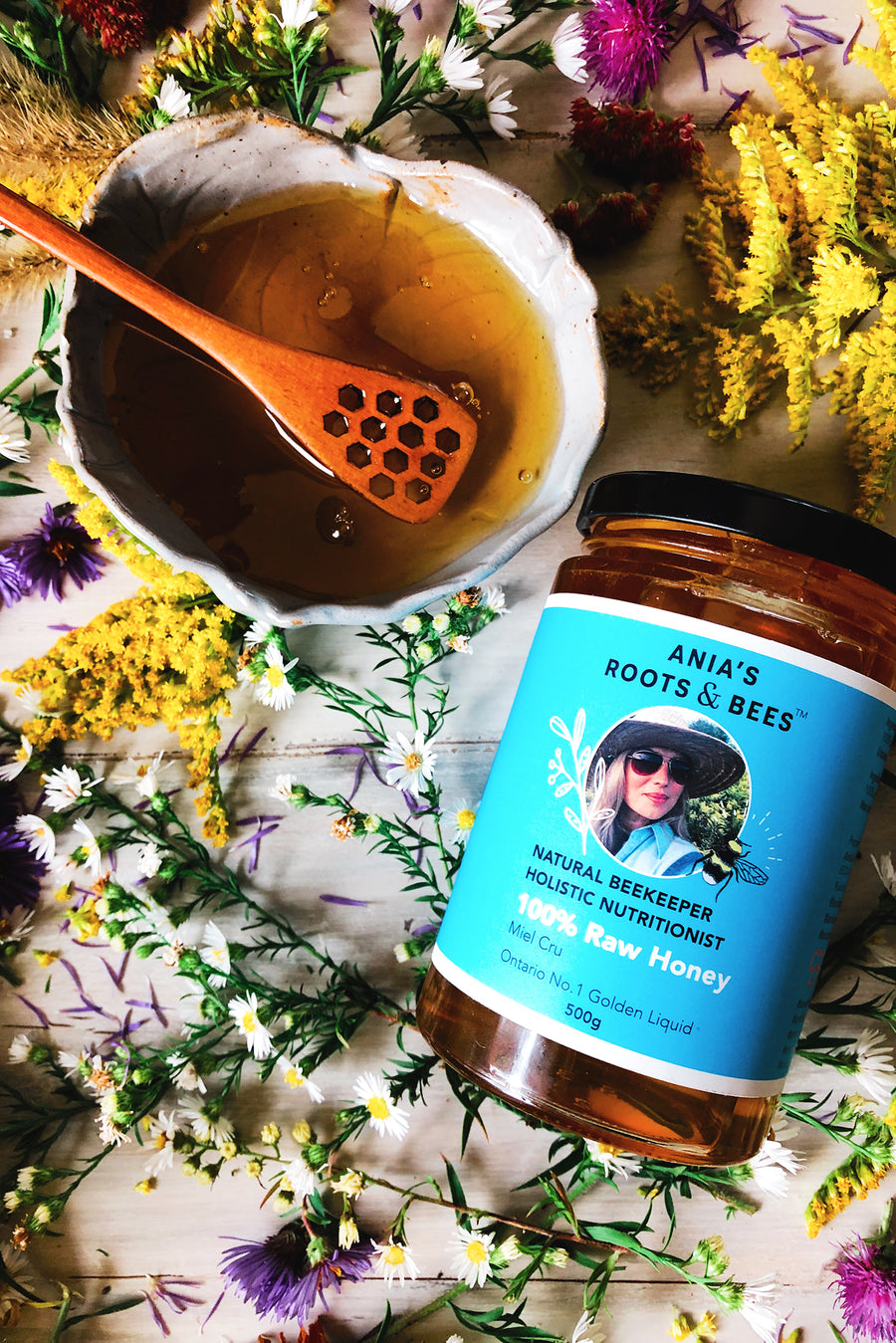 100% Ontario Wildflower Honey