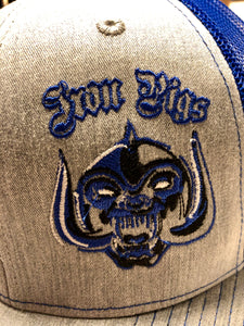 Iron Pigs Blue and Grey Snapback