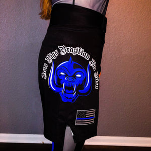 Black Iron Pigs No Gi Shorts