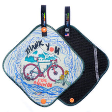 Kula Cloth® Artist Series - 'Thank You for Biking'