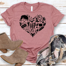 Load image into Gallery viewer, Harry Potter Heart Tee