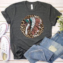 Load image into Gallery viewer, Leopard Indian Tee
